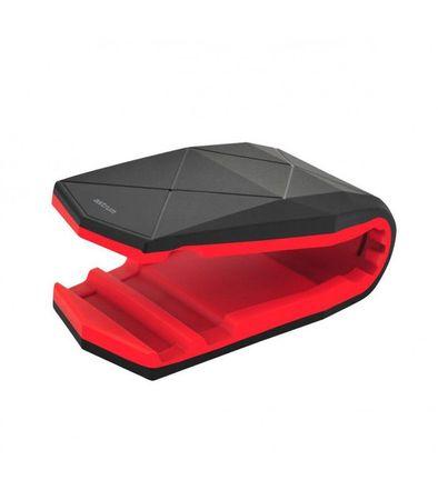 "Astrum SH560 Univerzális multifunkciós nanopados autós tartó, 3.5"" - 6.0"" -ig, Fekete-piros"