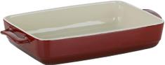 Kela Zapékací mísa MALIN 22 x 37,5 cm, červená
