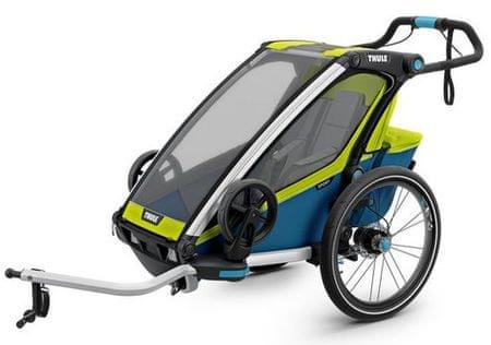 Thule športni voziček Chariot Sport1, zeleno-moder