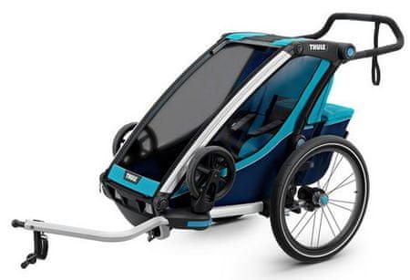 Thule športni voziček Chariot Cross1, moder