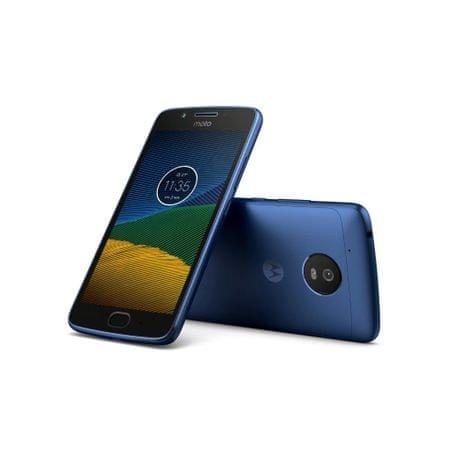 MOTOROLA Smartfon Moto G5, 2GB/16GB, niebieski (PA610114RO)