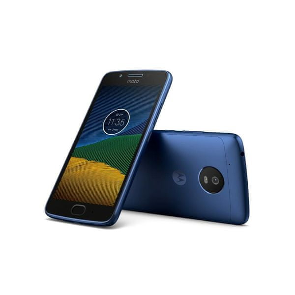 Motorola Moto G5, 2GB/16GB, Oxford Blue (PA610114RO)