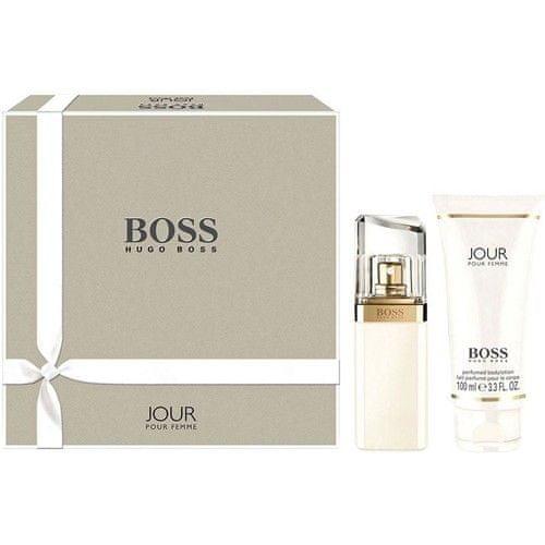 Hugo Boss Boss Jour Pour Femme - parfémová voda s rozprašovačem 75 ml + tělové mléko 100 ml