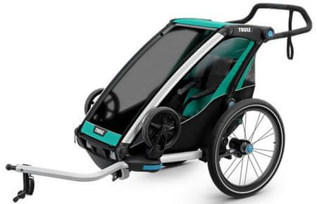 Thule športni voziček Chariot Lite1, turkizen