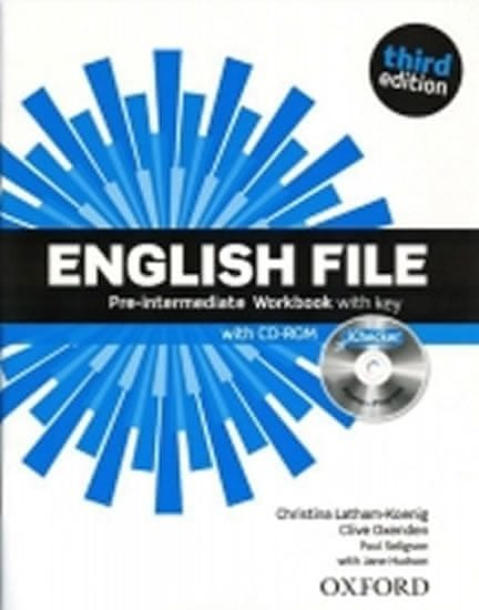 Latham-Koenig Christina; Oxenden Clive;: English File Third Edition Pre-intermediate Workbook with A