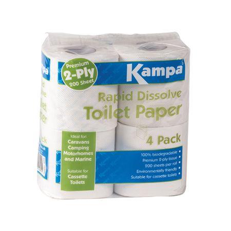Kampa toaletni papir Rapid Dissolve