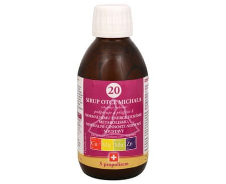 Bioligo Sirup Otce Michala 20 200 ml
