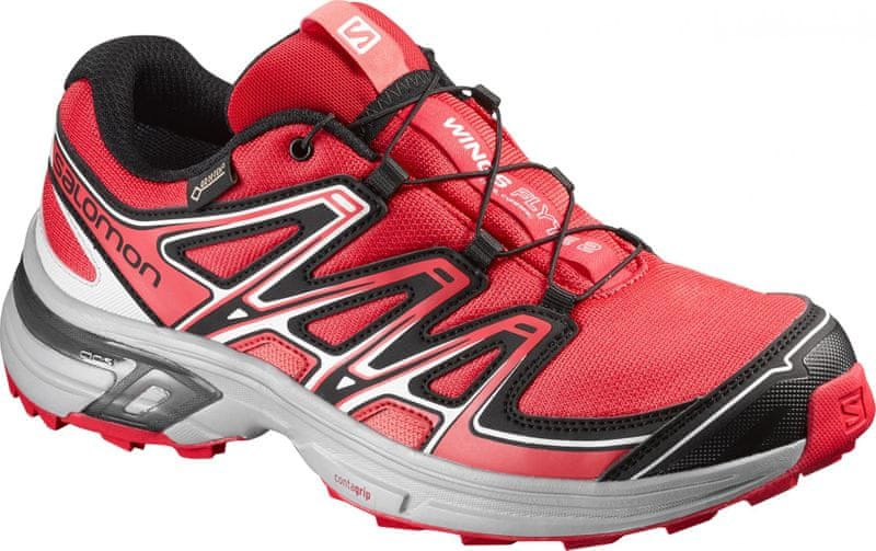 Salomon Wings Flyte 2 Gtx W Red/Onix/Coral Punch 40.7