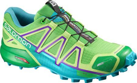 Salomon tekaški copati Speedcross 4 CS W, zeleni, 42