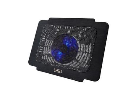 Astrum CP160 Laptop hűtő, Fekete