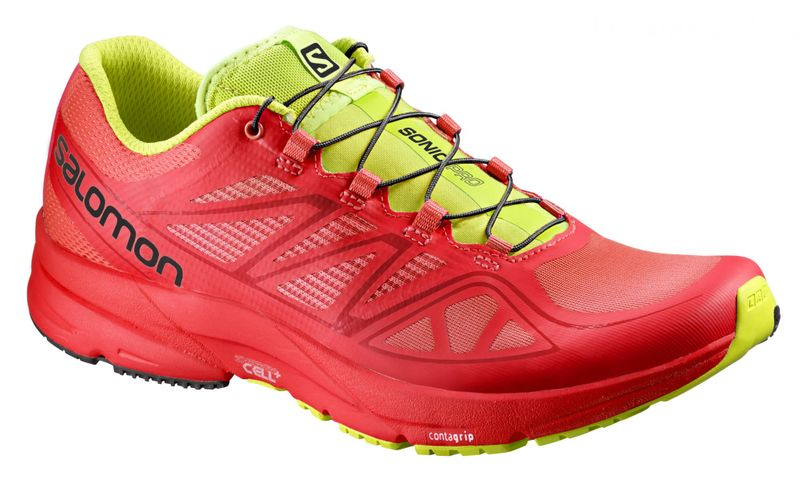 Salomon Sonic Pro Radiant Red/Radiant Red/Gecko Green 41.3