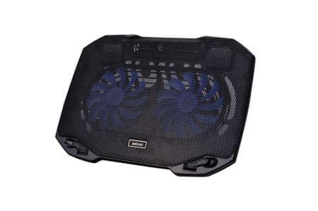 Astrum Laptop hűtő, Fekete CP170
