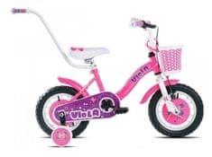 Capriolo otroško kolo BMX Viola 12, roza