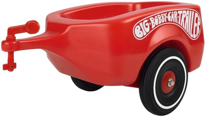 BIG Big Bobby - přívěsný vozík červený