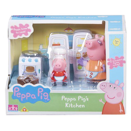 TM Toys Pujsa Pepa kuhinjski set + 2 figurici