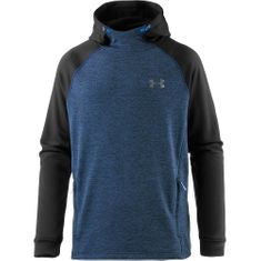 Under Armour moški pulover Tech Terry Fitted PO, moder