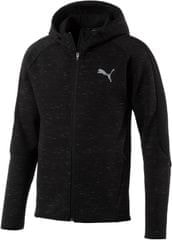 Puma Evostripe SpaceKnit FZ Hoody Cotton Black