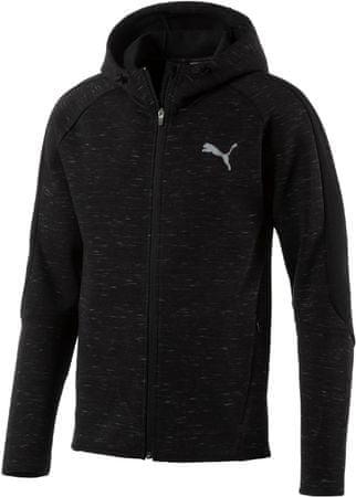 Puma moška jakna Evostripe Spaceknit FZ, črna, S