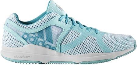 Adidas Crazytrain Cf W Női edzőcipő, Fehér/Kék, 40