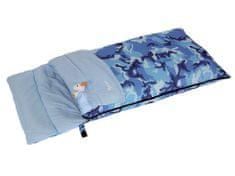 Bertoni spalna vreča Junior Camo, modra