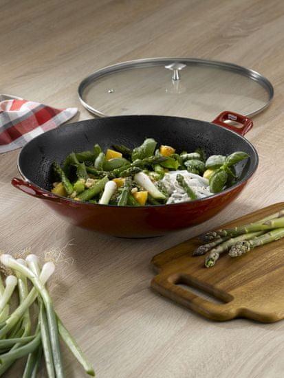 Kela Calido wok s pokrovom, 36 cm