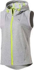 Puma brezrokavnik Transition SL Jkt Heather, svetlo siv