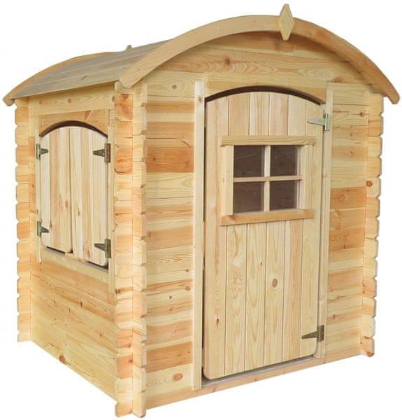 CUBS Dětský dřevěný domek Nikolka