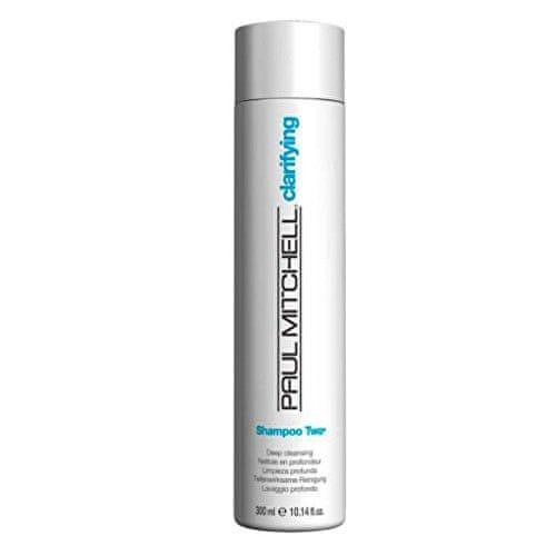 Paul Mitchell Hloubkově čisticí šampon pro mastné vlasy Clarifying (Shampoo Two Deep Cleansing) (Objem 300 ml)
