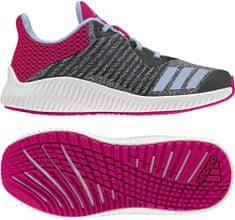 Adidas tekaški copati Fortarun K, modri/roza
