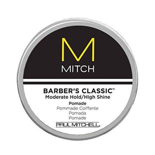 Paul Mitchell Pomáda pro zpevnění a intenzivní lesk vlasů Mitch (Barber´s Classic Moderate Hold/High Shine) 85 g