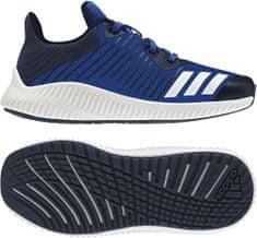Adidas tekaški copati Fortarun K, modri/beli