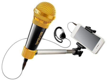 ADC Blackfire Selfie mikrofon, fekete