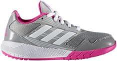 Adidas tekaški copati Altarun K, sivi/roza