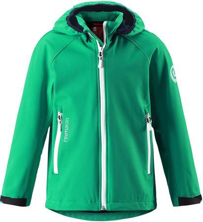 Reima otroška jakna Hatch, zelena, 116