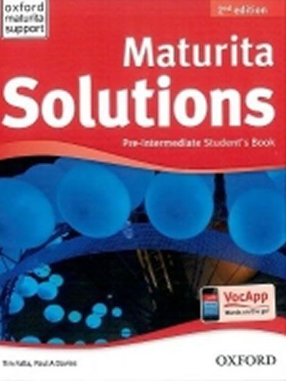 Falla Tim, Davies Paul A.: Maturita Solutions Pre-Intermediate 2nd Edition Student´s Book CZ