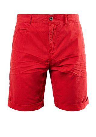 s.Oliver szorty męskie 30 czerwony