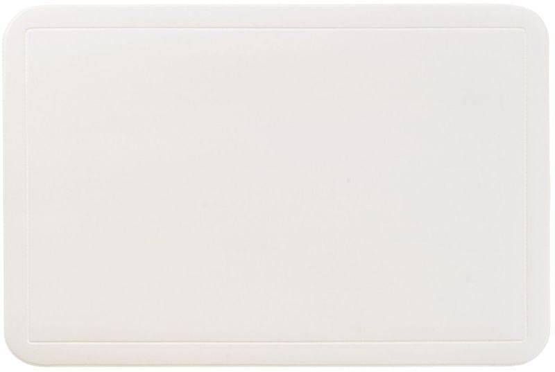 Kela Prostírání UNI černé PVC 6 ks, bílé