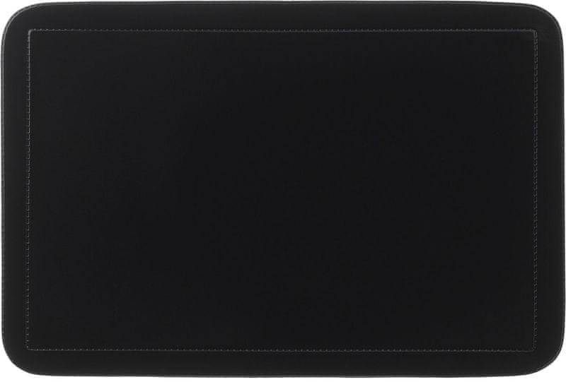 Kela Prostírání UNI černé PVC 6 ks, černé