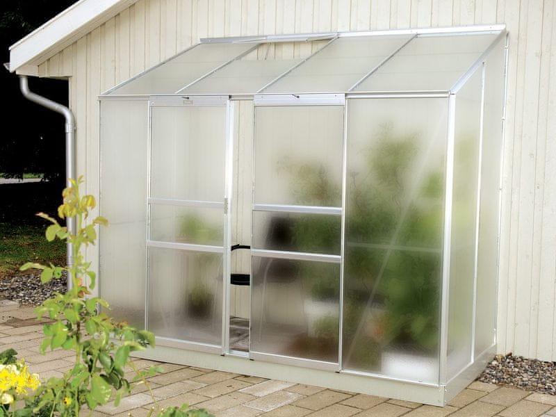 VITAVIA skleník VITAVIA IDA 3300 matné sklo 4 mm stříbrný