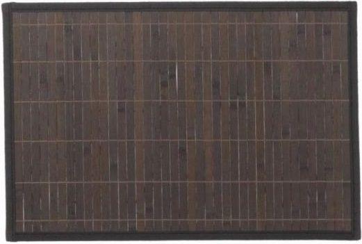 Kela Prostírání CASA bambus 6 ks, tmavé