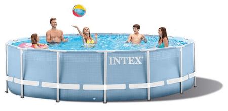 Intex bazen Prism Frame Set 366 x 76 cm, s kartušno črpalko (28712NP)