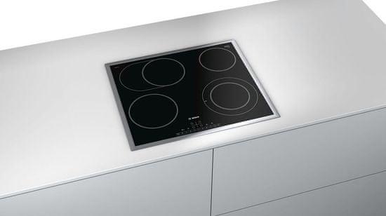 Bosch steklokeramična kuhalna plošča PKN645FP1