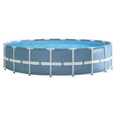 Intex bazen Prism Frame Set 549 x 122 cm, s kartušno črpalko, lestev, podloga, prevleka (28752NP)