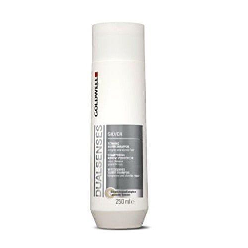 GOLDWELL Šampon pro blond a šedivé vlasy Dualsenses Silver (Refining Silver Shampoo) 250 ml
