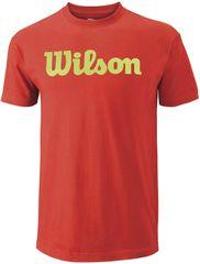 Wilson moška majica Script Tee Fiesta/Green Glow