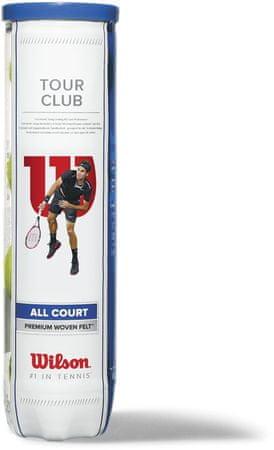 Wilson teniška žogica Tour Club, 4 kosi