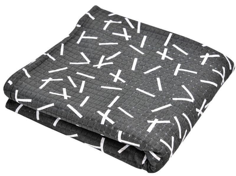 Lodger Cocooner šátek na nošení, Sprinkle Print Carbon
