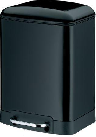 Kela Odpadkový koš Davino 6 l čierna