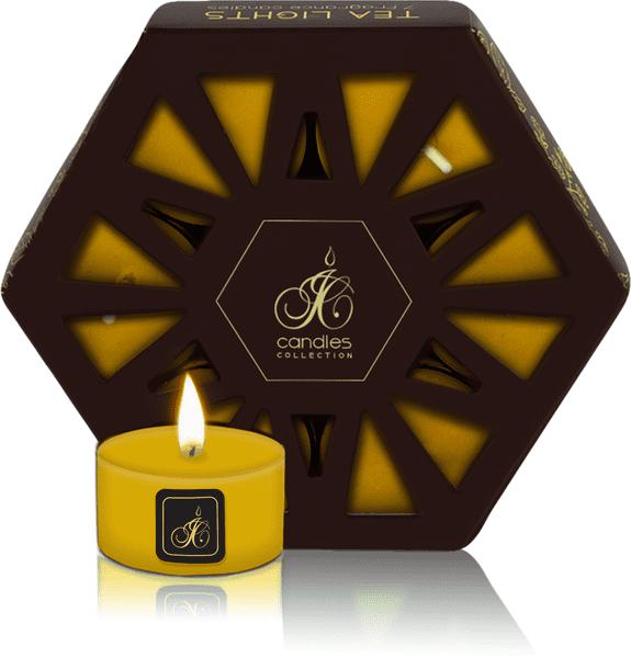 JCandles Čajové svíčky Black Grapes 7 ks