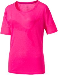 Puma Heather Cat Tee Pink Heather